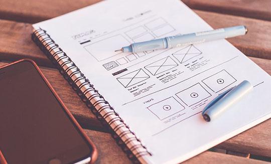 デザインの種類によって変動するホームページ制作費用